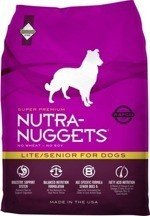 NUTRA NUGGETS Lite/Senior for Dogs 15 kg