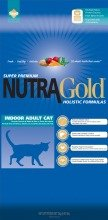 NUTRA GOLD HOLISTIC Indoor Adult Cat 7,5 kg | USZKODZONY WOREK