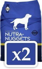 NUTRA NUGGETS Maintenance for Dogs 2 x 15 kg