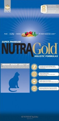 NUTRA GOLD HOLISTIC Indoor Senior Cat 1 kg