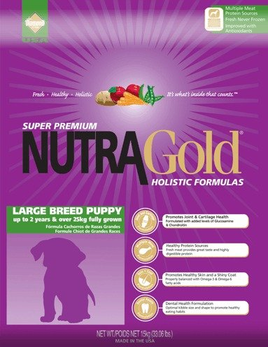 NUTRA GOLD HOLISTIC Large Breed Puppy 3 kg