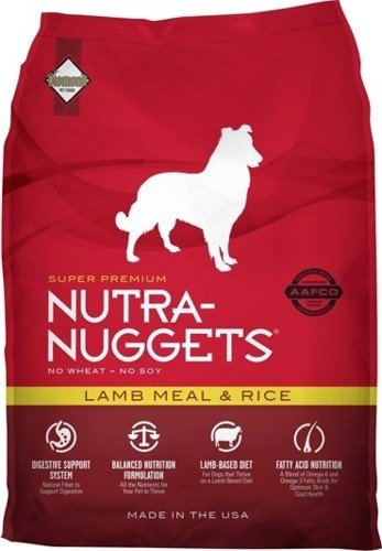 NUTRA NUGGETS Lamb Meal and Rice for Dogs 2 x 15 kg