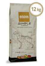 ENOVA Simple Formula for Puppies & Adult Dogs 12 kg