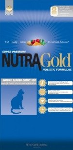 NUTRA GOLD HOLISTIC Indoor Senior Cat 3 kg