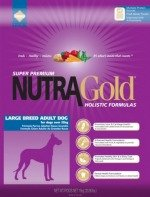 NUTRA GOLD HOLISTIC Large Breed Adult Dog 15 kg