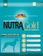 NUTRA GOLD HOLISTIC Salmon & Potato Adult Dog 15 kg | USZKODZONY WOREK