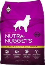 NUTRA NUGGETS Lite/Senior for Dogs 3 kg